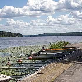 Озеро Меларен.(Швеция)
