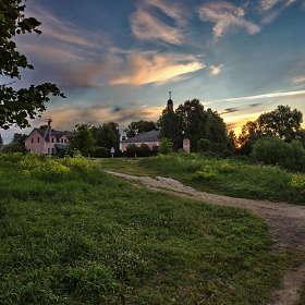 Сельский пейзаж...