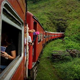 Поглощение поезда