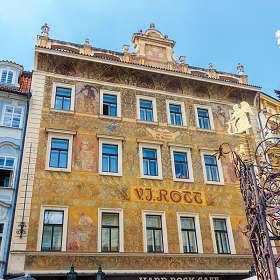 Дом у Ротта. Прага. Чехия