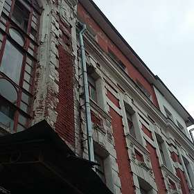 фасады старых зданий...