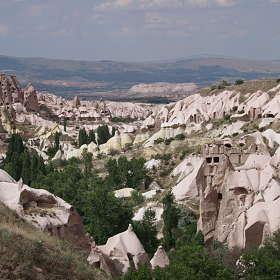 Долина голубей,Каппадокия