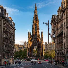 Эдинбург. Монумент Скотта
