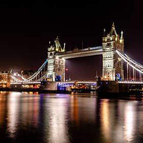 Тауэрский мост во всей красе. Лондон.