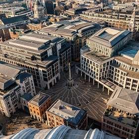 Кусочек Лондона с высоты собора св. Павла.