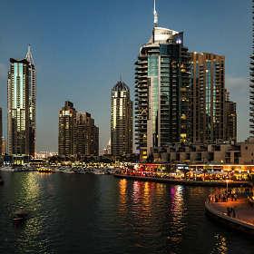 Дубай Марина. ОАЭ.