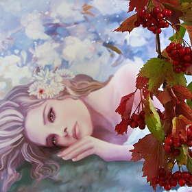 ягода--калина