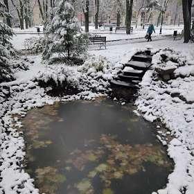 Осенний снегопад