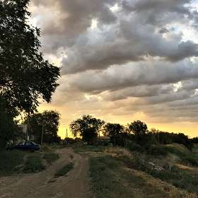Сельскими дорогами...