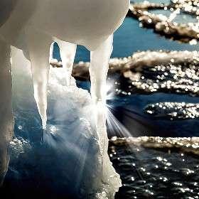 Лёд лучей или лучи льда...