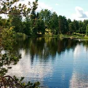 """Цикл фото """"Вуокса"""".  Вид на озеро."""