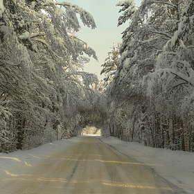Зимняя дорога ..