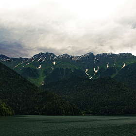 Озеро..