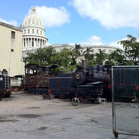 Задворки Гаваны - Капитолий (Куба)