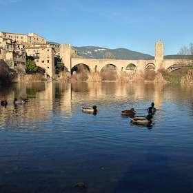 Утки в Бесалу, Испания