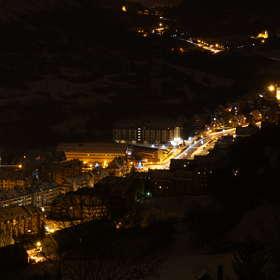 Вьелья - ночь