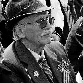 Портреты ветеранов Великой Отечественной