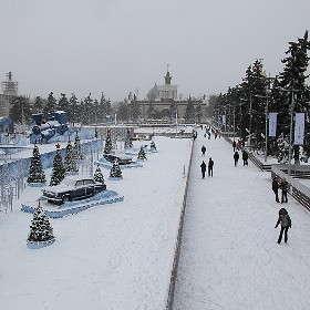 Предновогодняя Москва 3