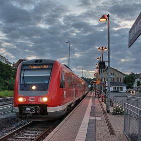 Rottenburg (Neckare). Bahnhof DB Regional 2.