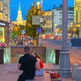 Вечер в городе