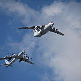 """Ил-78М и Ту-142 """"Великий Устюг"""""""