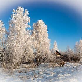 Зимняя картинка.