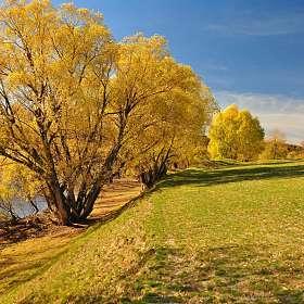 Осень реки